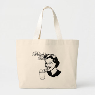 Bitchs Blow Large Tote Bag