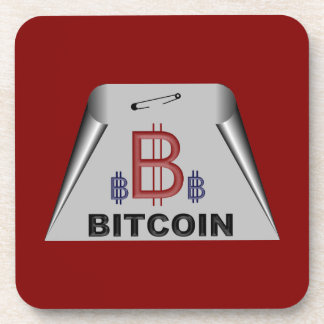 bitcoin5 beverage coaster