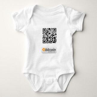 Bitcoin aceptó aquí body para bebé