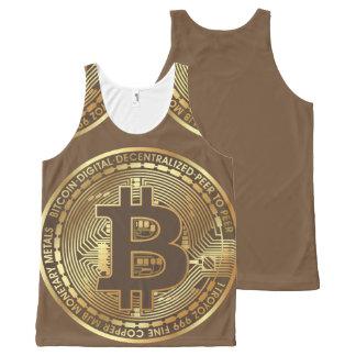 Bitcoin All-Over-Print Tank Top