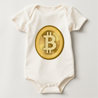 BITCOIN Anonymous MONEY DIGITAL Currency BTC Romper