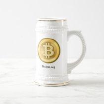 Bitcoin Beer Mug