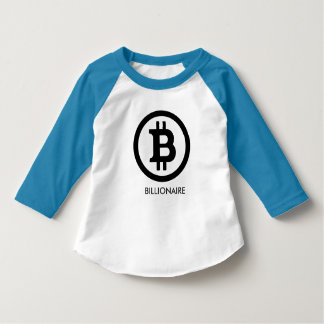 BITCOIN BILLIONAIRE-Kid's T-Shirt