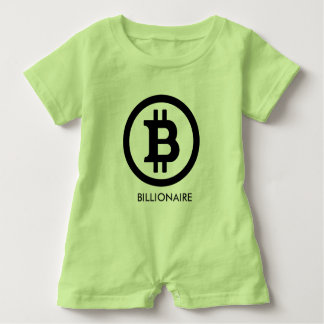 BITCOIN BILLIONAIRE-Toddler Romper