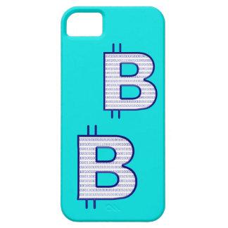 bitcoin blue iPhone SE/5/5s case