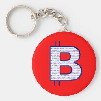 bitcoin blue keychains