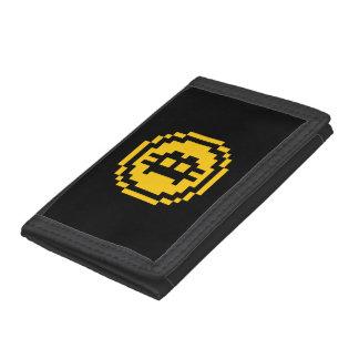 Bitcoin BTC 8-Bit Logo | Wallet