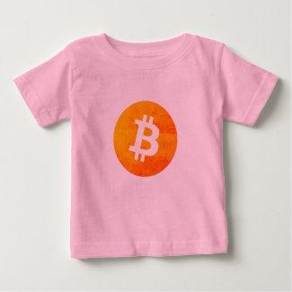 Bitcoin, BTC Baby T-Shirt