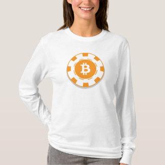 "Bitcoin (BTC) ""Chip"" woman's long sleeve T-Shirt"