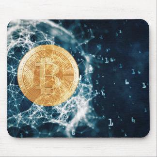Bitcoin BTC Code Mousepad
