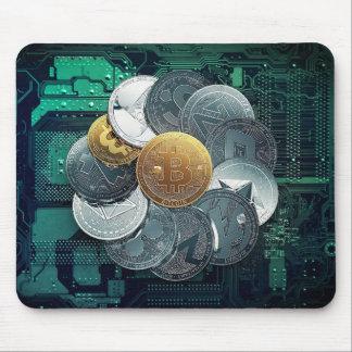 Bitcoin BTC crypto coins Mousepad