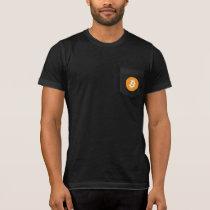 Bitcoin BTC Logo | Pocket Shirt
