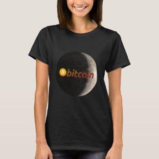 Bitcoin, BTC, moon T-Shirt