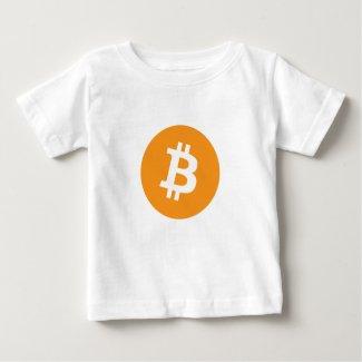 Bitcoin, BTC, unisex Baby T-Shirt