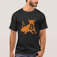 bitcoin bull T-shirt
