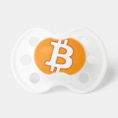 Bitcoin Cart Pacifier at Zazzle