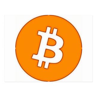 Bitcoin Cart Postcard