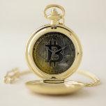"""Bitcoin Coins Pocket Watch<br><div class=""""desc"""">Bitcoin Coins</div>"""