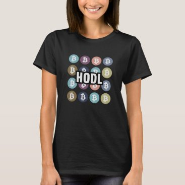 Bitcoin Cryptocurrency HODL T-Shirt