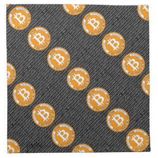 Bitcoin currency - M7 Napkin