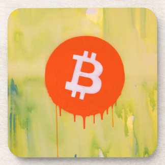 Bitcoin Drink Coaster