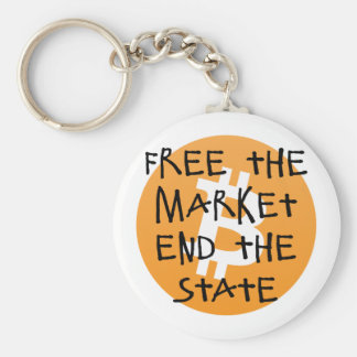 Bitcoin - Free the Market End the State Keychain