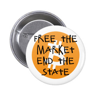Bitcoin - Free the Market End the State Pinback Button