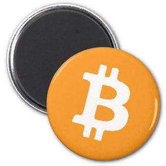 Bitcoin Imán Redondo 5 Cm