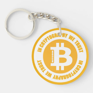 Bitcoin In Cryptography We Trust Keychain