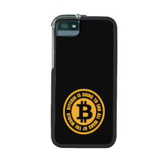 Bitcoin Is Going To End All Wars Of The World Cover For iPhone 5
