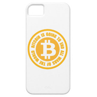 Bitcoin Is Going To End All Wars Of The World iPhone 5 Cases