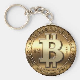Bitcoin Key Hanger Keychain