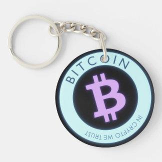 Bitcoin Acrylic Key Chains