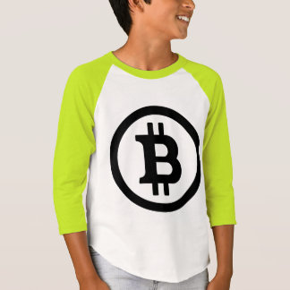 BITCOIN-Kid's Neon T-Shirt-Cryptocurrency Geekery
