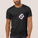 bitcoin lila t-shirt