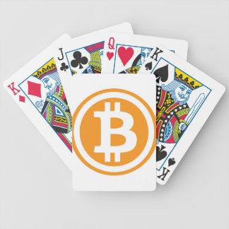 Bitcoin logo baraja