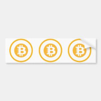 Bitcoin Logo Classic Style 2 Bumper Sticker