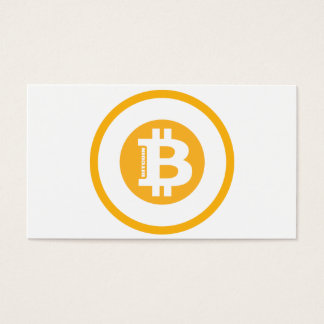 Bitcoin Logo Classic Style 2 Business Card