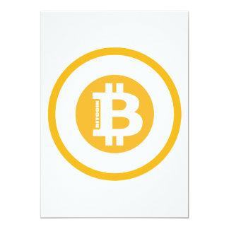 Bitcoin Logo Classic Style 2 Card