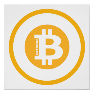 Bitcoin Logo Classic Style 2 Poster