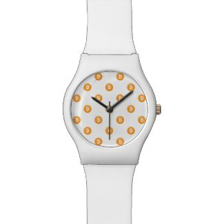Bitcoin Logo Pattern Watch