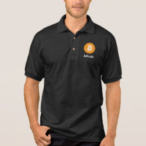Bitcoin logo Polo