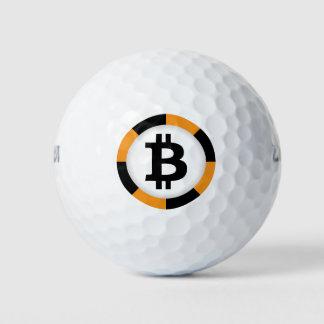 Bitcoin Logo Symbol Crypto Golf Ball Golfing Balls