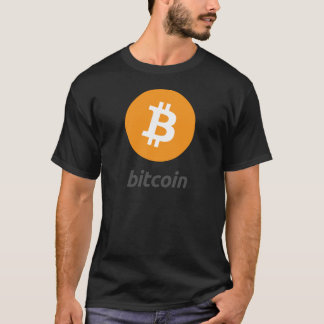 Bitcoin logo with writing T-Shirt