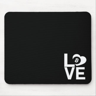 BITCOIN/LOVE-Mouse Pad Mouse Pad