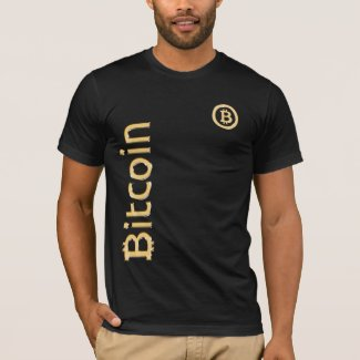 Bitcoin Made of Gold single sided design