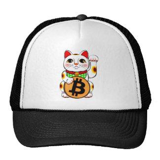 Bitcoin Maneki Neko Lucky Cat 01 Trucker Hat