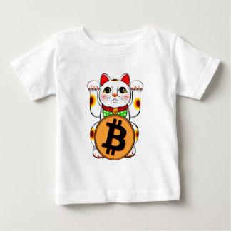 Bitcoin Maneki Neko Lucky Cat 03 Baby T-Shirt