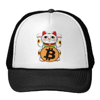 Bitcoin Maneki Neko Lucky Cat 03 Trucker Hat