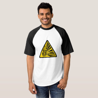 Bitcoin - Men's Raglan Baseball T-Shirt